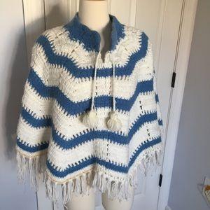 Vintage crochet shaw
